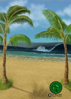 Background Gaming Card Design 2016 Digital 648x907 #Beach #FantasyArt #Illustration #Card #Digital #DigitalArt. Prints and one time giclee available.